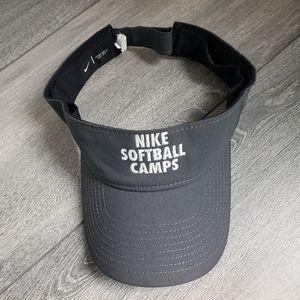Nike Softball Camps Adjustable Visor Gray